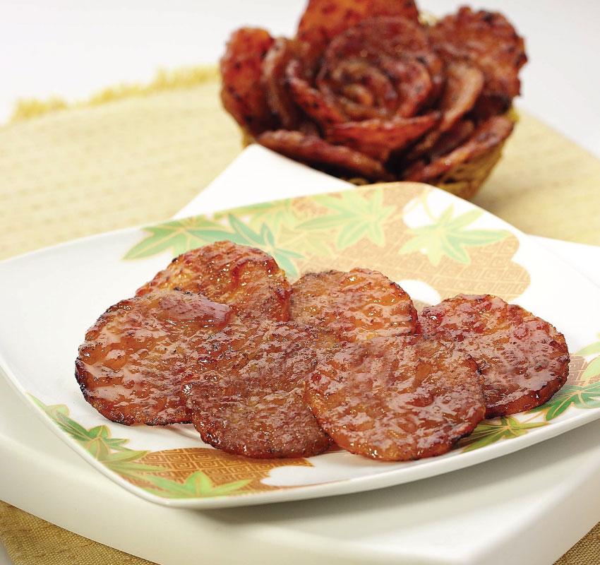 Thịt gà miếng tròn nướng
